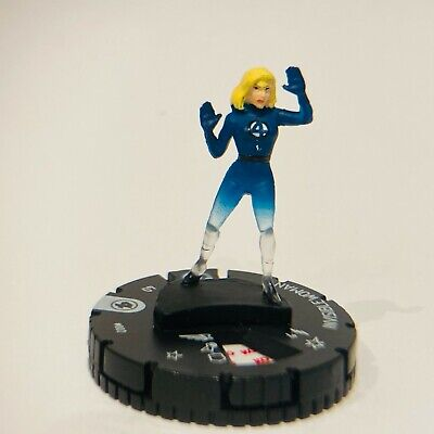 Marvel HeroClix Fantastic Four - Invisible Woman #002 • 1.49£