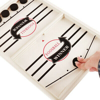 Fast Sling Puck Game Paced SlingPuck Winner Board Family Party Games Toy EHDO • 8.15£