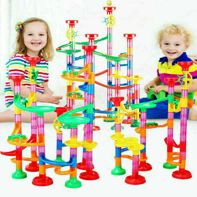 109pcs Kids Deluxe Marble Run Race Game Play Toys Colorful Fun Present Gift NEW • 11.94£