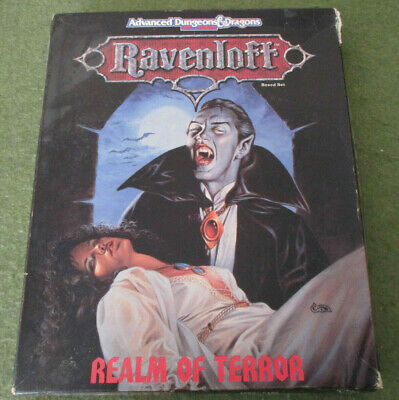 TSR, AD&D RPG (2nd Edition) - RAVENLOFT, REALM OF TERROR BOXED SET (1990) • 34.95£