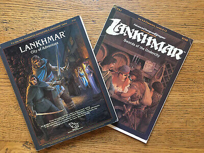 Dungeons & Dragons  Lankhmar City Of Adventure  Expansion Pack Plus Module CA1 • 12£