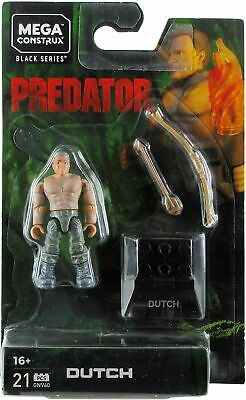 Mega Construx Predator - Dutch - New In Stock • 21.99£