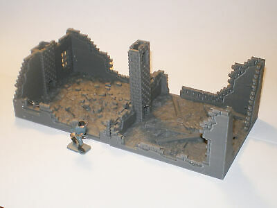 WOW Buildings 1/72 (20mm) Total House Ruin • 16£