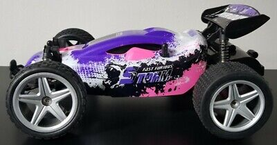 2.4GHZ MONSTER TRUCK BUGGY 20KMH RECHARGEABLE Remote Control Car GIRLS PINK TOYS • 19.99£