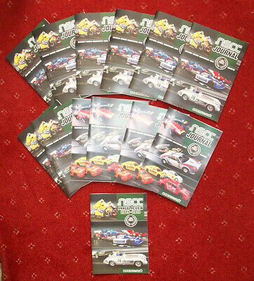 Scalextric NSCC Journals For 2011 • 7.50£