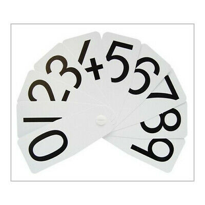 Numbers 0-10 Fun Number Fan (White) • 2.60£
