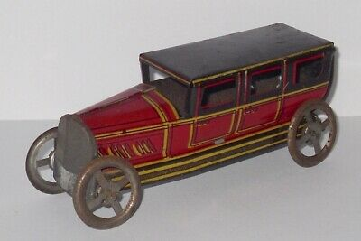 Antique/Vintage - Tinplate Penny Toy - Car. • 74.99£