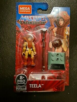 Mega Construx Pro Builders Masters Of The Universe Teela - New In Stock • 18.99£