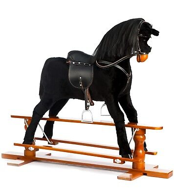 Brand New LUXURIOUS EXTRA LARGE Rocking Horse  BEAUTY   SIZE XL Age 6 -13 Years • 225£