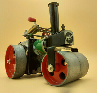 Vintage Mamod S R 1a Steam Roller, C. 1972, With Box • 85£