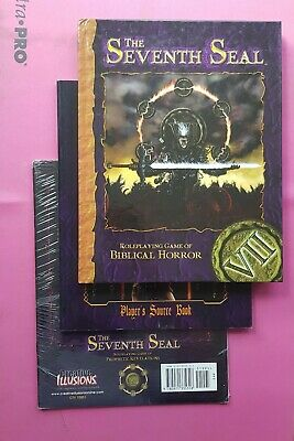The Seventh Seal Roleplaying Game Of Biblical Horror Collection - Rpg Screen Lot • 119.99£