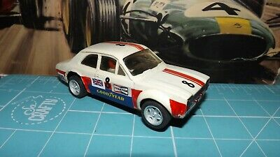 SCALEXTRIC FORD ESCORT MEXICO Car With New Wheels & Tyres ! • 7.99£