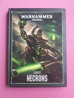 Codex Necrons Warhammer 40,000 40k Games Workshop Gw Hardback  • 4.99£