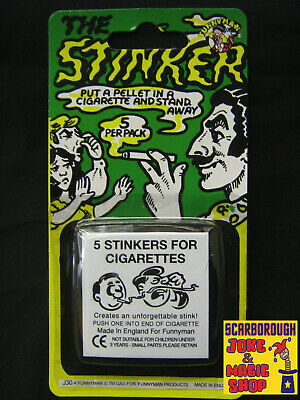 Cig Stinkers ~ Stink Bombs For Cigarettes! ~ 5 Pack ~ Classic Prank Joke • 1.99£