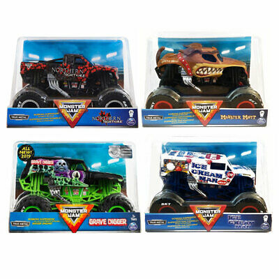 Monster Jam Die-Cast 1:24 Truck *CHOOSE YOUR FAVOURITE* • 12.99£