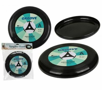 Novelty Vinyl Record Design Plastic Frisbee Flying Disc Outdoor Toy New * • 5.95£