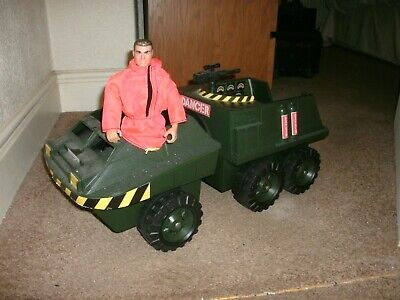 Vintage ACTION MAN 6 WHEELED BUGGY  1978   Hasbro • 18£