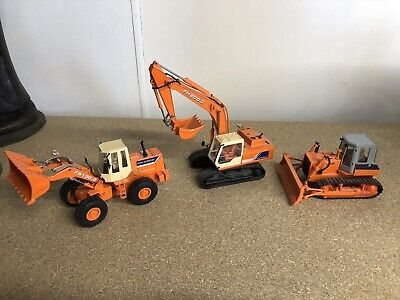 Ros Agri Model Made In Italy Fiat-Hitachi FH200.3 Set • 30£