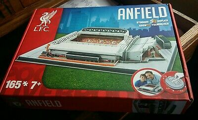 Liverpool Replica 3D Anfield Stadium Jigsaw Puzzle 165 Pieces - New • 9.99£