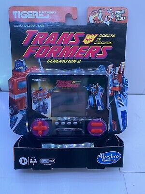 Tiger Electronics Retro Transformers Robots In Disguise G2 Handheld LCD Game • 17.99£