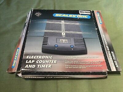 Boxed Scalextric Classic 1:32 Track Electronic Lap Counter Timer C8045 Working  • 6.49£