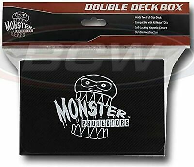 Monster Protectors Trading Card Double Deck Box With Self-Locking Magnetic Cl... • 37.76£