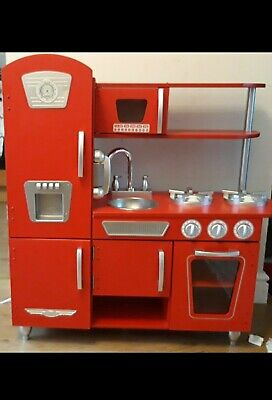 Kids Wooden Kitchen With Accessories  • 50£