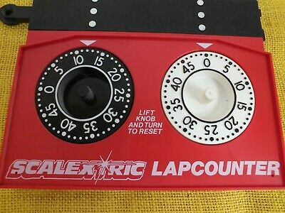 Vintage Scalextric Analogue Lap Counter C277 (Mar) • 8.99£