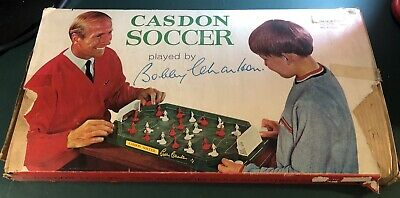 Casdon Soccer By Bobby Charlton Vintage Table Football  1960's Complete VGC • 48.99£