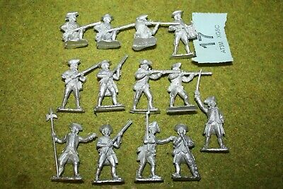 NEW FRONT RANK 40MM AWI American War Of Independence Miniatures  17 • 7£