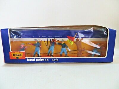 HERALD MODELS 4446 'U.S 7th CAVALRY SET' 1:32 TOY SOLDIERS. MIB/BOXED. BRITAINS. • 43.99£
