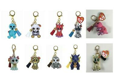 Ty Mini Boos NEW Metal Key Clips Hand Painted Toys  Choose Your Own Character • 5.95£