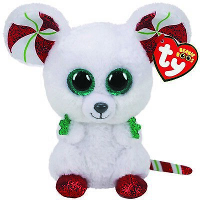 Ty Beanie Babies Boos Chimney Mouse Christmas 2020 Plush Soft Toy New With Tags • 8.95£