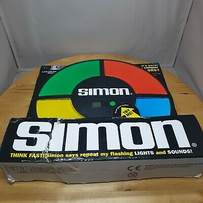 HASBRO SIMON Classic Electronic Memory Game 2013 Model # 1897 TESTED WORKS • 19.99£
