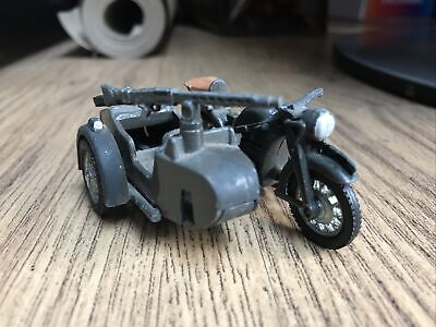 Britains Deetail WW2 German Army Sidecar Combination (9681) • 9.40£
