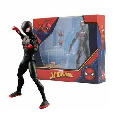 UK Marvel Miles Morales Into The Spider-Verse Action Figure Toy Model Spider-Man • 13.42£