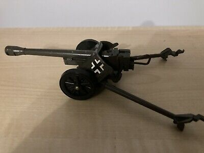Britains Deetail German WW2 PAK Anti-Tank Field Gun. VGC Original 1970s Made UK • 10.39£