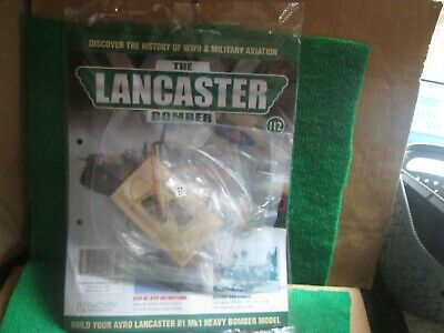 Hachette 1:32 Scale Build The Lancaster Bomber (issue 112 With Part) New  • 14.99£