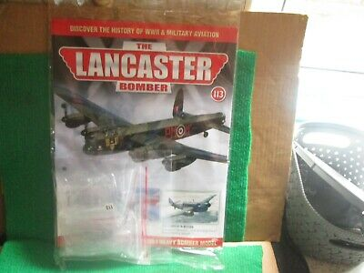 Hachette 1:32 Scale Build The Lancaster Bomber (issue 113 With Part) New  • 14.99£