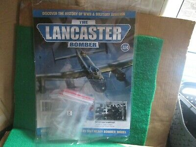 Hachette 1:32 Scale Build The Lancaster Bomber (issue 114 With Part) New  • 14.99£