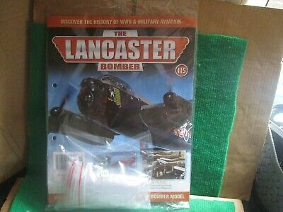 Hachette 1:32 Scale Build The Lancaster Bomber (issue 115 With Part) New  • 14.99£