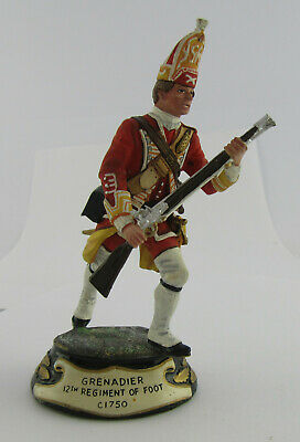 Charles Stadden Pewter Figure Of 12th Foot Regiment Grenadier, C.1750, 1 Of Many • 29.99£