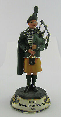 Charles Stadden Pewter Figure Of Piper In Royal Irish Rangers C.1985, 1 Of Many • 29.99£