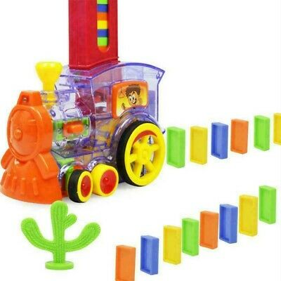 Domino Rally Electronic Train Model  Set With  Toys UK Kids Colorful Toy Sound • 12.77£
