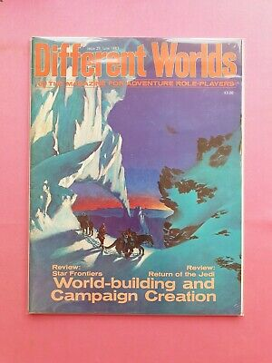 Different Worlds Magazine Issue 29 June 1983 - Chaosium Rpg Roleplaying Roleplay • 22.50£