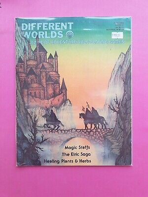 Different Worlds Magazine Issue 21 June 1982 - Chaosium Rpg Roleplaying Elric • 22.50£