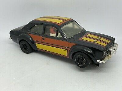 Scalextric Car C052 Ford Escourt RS1600 Black Complete With Chrome • 10£