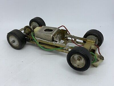 Scratch Builder Scalextric Metal Chassis With Motor Spares / Repairs • 0.99£