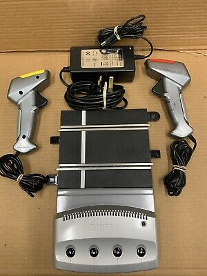 Scalextric Digital Power Base For 4 Cars, 2 Controllers And Power Pack (lot:2db) • 3.20£