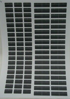 No 44   Ambulance Black Windows Clear Waterslide Decals For Code 3 • 3.50£